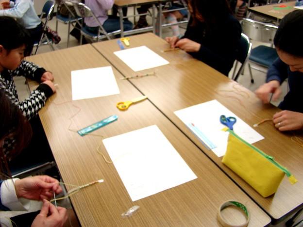 写真: 2011-2-5 HEMP編み体験教室