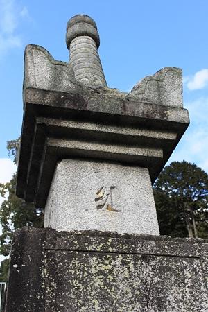 京都黒谷・金戒光明寺 徳川秀忠正室 江 供養塔