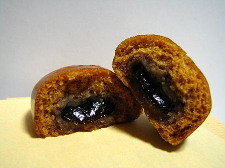 黒糖饅頭 黒蜜
