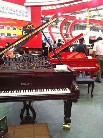 中国のピアノ