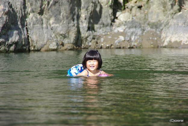 写真: 浮き輪