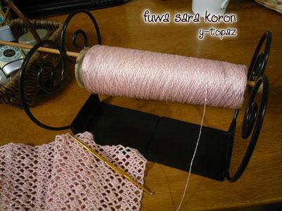ピンクの糸で 2