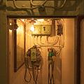 写真: 2010.06.23 山下公園 氷川丸 機関室電話BOX