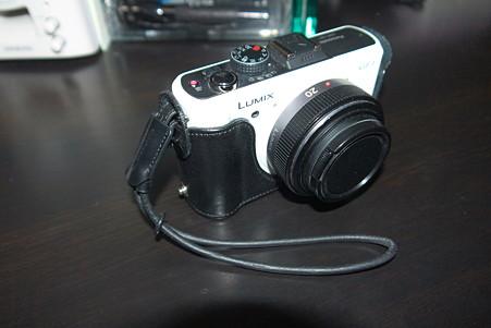 2011.01.16 机 GF1 ハンドストラップ