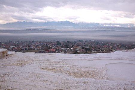 2011.01.24 トルコ パムッカレ 温泉石灰華段丘 絶景