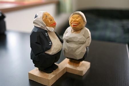 2011.05.09 箱根宮ノ下 木端人形(大工とおばさん) 松澤登美雄