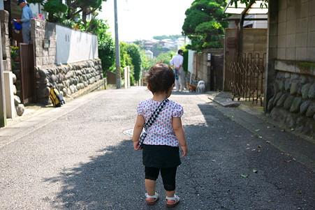 2011.06.04 近所 姫 朝散歩 ワンワン