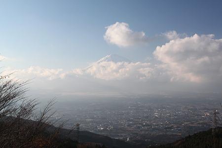 乙女の鐘からの富士山