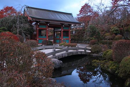 池と金剛力士門