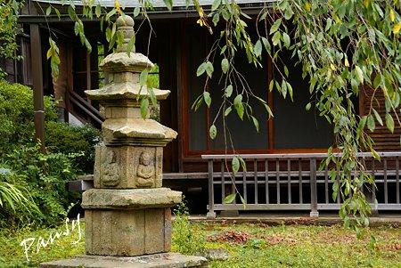 初秋の東慶寺にて・・2