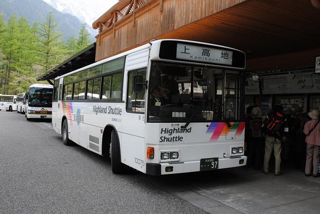DSC_5959 往路新島々からのバス