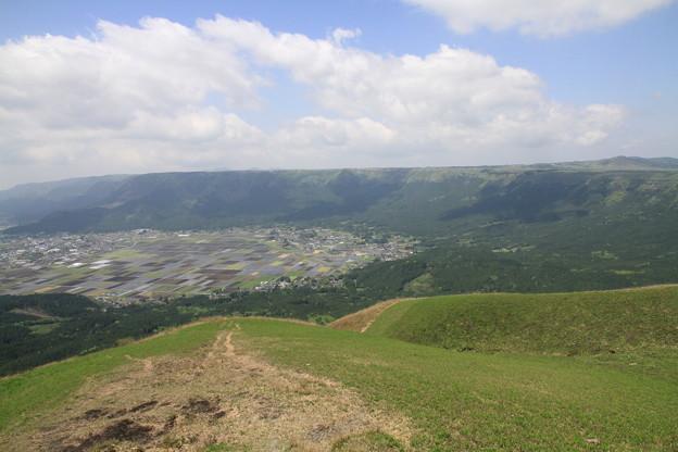 写真: 100512-36大観峰からの180度4