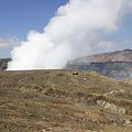写真: 100512-77阿蘇中岳噴火口6