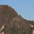 写真: 100722-19穂高連峰と槍ヶ岳(7/30)