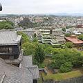 写真: 100518-64九州ロングツーリング・熊本城天守閣から・北 福岡方面