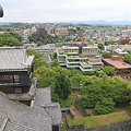 Photos: 100518-64九州ロングツーリング・熊本城天守閣から・北 福岡方面