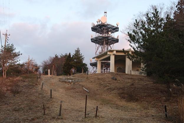 朝の富幕山
