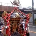 お神輿渡御中(7月6日、塩釜神社)