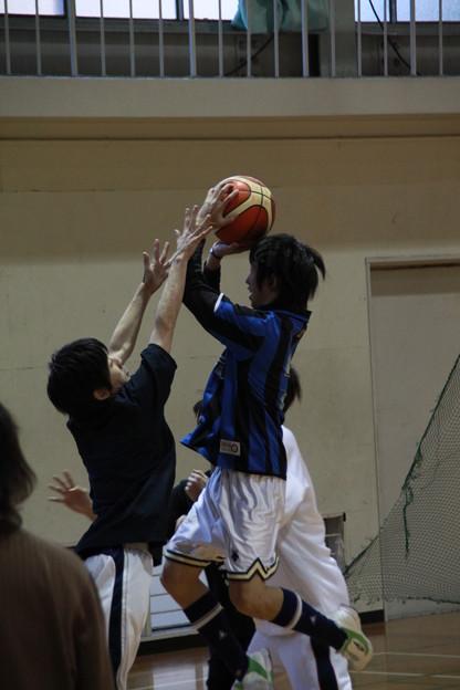 クラスマッチ バスケ