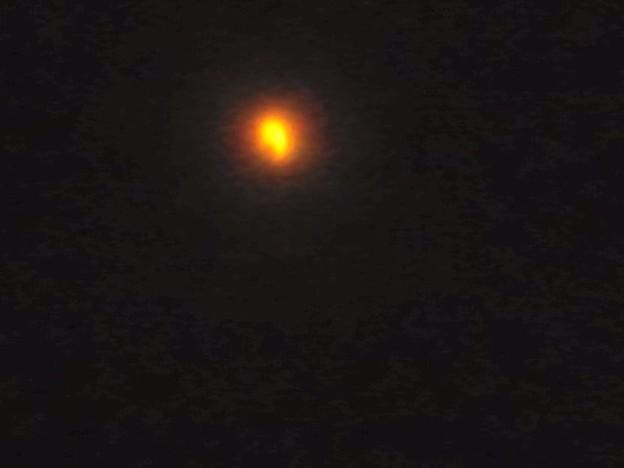 金環日食 もうすぐ終わりそう