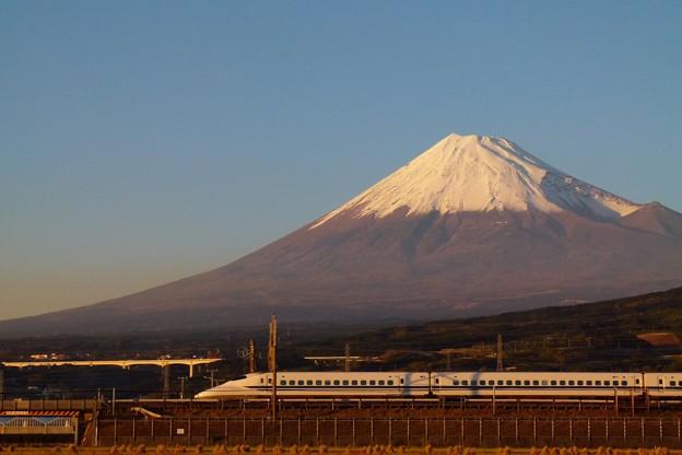 700系 富士山