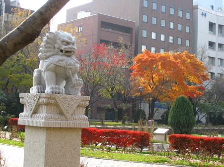 大通公園の狛犬