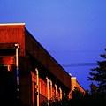 Photos: 朝陽に照らされた校舎