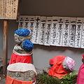 写真: 六角堂 地蔵
