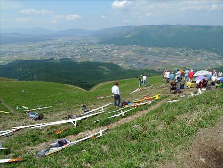 新緑の大観峰(3)