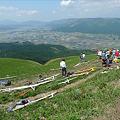 写真: 新緑の大観峰(3)
