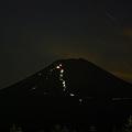 Photos: 夜の富士登山道