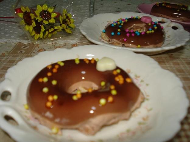 生ドーナツ作りました