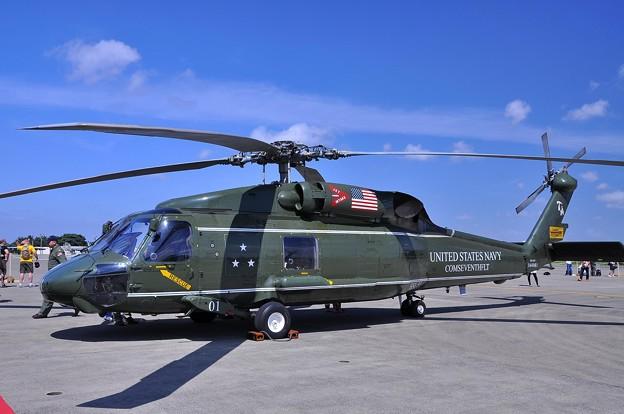 HSL-51 SH-60B シーホーク対潜ヘリ・・20110910厚木基地開放海軍航空100周