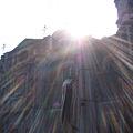 写真: 2011/05/10 太陽シャワー@メキシコ グアダルーペ寺院