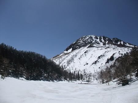 弥陀ヶ池と白根山