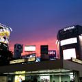 写真: 渋谷の空