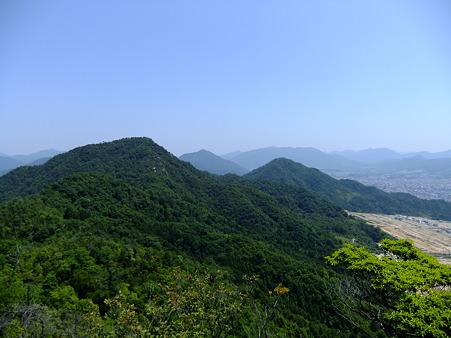 歩いてきたカガラ山、武田山、火山