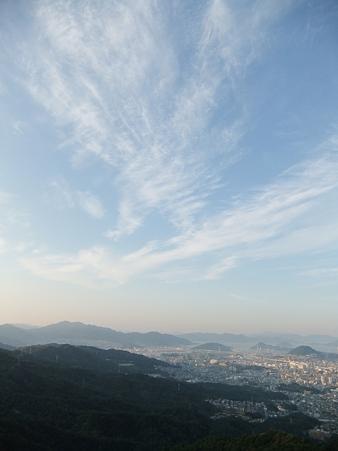 岩屋観音から望む広島湾