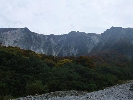元谷から望む大山北壁