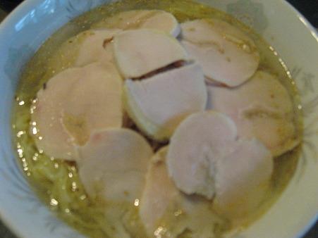 鶏ハムラーメン塩